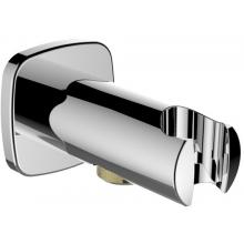 """LAUFEN CITY připojení sprchové hadice s nástěnným držákem ruční sprchy, závit 1/2"""", chrom 3.6398.0.004.162.1"""