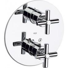 ROCA LOFT vrchní sada sprchové termostatické podomítkové baterie, chrom 75A0743C00