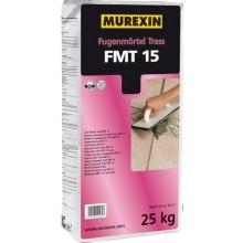MUREXIN TRANS FMT 15 malta spárovací 25kg, prášková, na přírodní kámen, šedá