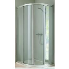 HÜPPE CLASSICS ELEGANCE posuvné dveře 800x1000x1900mm stříbrná matná/čiré 503040.087.321