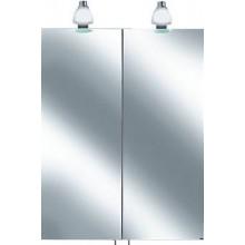 KEUCO ROYAL 30 zrcadlová skříňka 600x885mm, s osvětlením, matná stříbrná