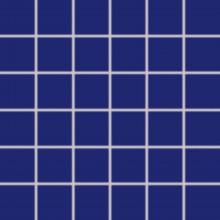 RAKO COLOR TWO mozaika 30x30cm, lepená na síťce, tmavě modrá