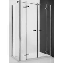 ROLTECHNIK ELEGANT LINE GDN2/1400 sprchové dveře 1400x2000mm dvoukřídlé pro instalaci do niky, bezrámové, brillant/transparent