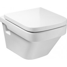 WC závěsné Roca odpad vodorovný Dama-N Compact  bílá