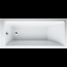 LAUFEN PRO vestavná vana 1600x700mm akrylátová, s konstrukcí, bílá 2.3395.1.000.615.1