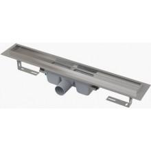 CONCEPT 100 PROFESSIONAL podlahový žlab 750mm s okrajem, pro plný rošt, nerez ocel