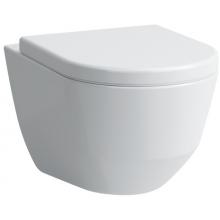 LAUFEN PRO závěsný zkrácený klozet compact rimless 360x490mm hluboké splachování, bílá LCC