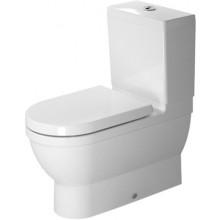 WC kombinované Duravit odpad vario Starck 3 s hlub. splach. bez nádrže vario 37x70,5 cm bílá