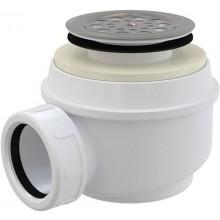 CONCEPT vaničkový sifon Ø52mm, s nerezovou mřížkou, chrom