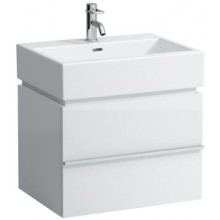 LAUFEN CASE skříňka pod umyvadlo 595x455x425mm, s jednou zásuvkou, bílá lesk