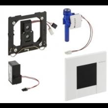GEBERIT BOLERO ovládání splachování pisoárů 13x1,2x13cm, infračervené, napájení ze sítě, alpská bílá