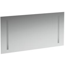 Nábytek zrcadlo Laufen Case s osvětlením a senzorovým spínačem 120x62 cm