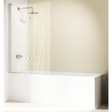 Zástěna vanová Huppe - Design elegance 1000x1500mm stříbrná matná/čiré AP