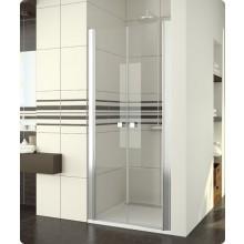 Zástěna sprchová dveře Ronal sklo Swing-Line SL2 1200 50 07 1200x1950 mm aluchrom/čiré AQ
