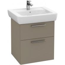 Nábytek skříňka pod umyvadlo Villeroy & Boch Verity Design 500x575x425 mm terakotová mat