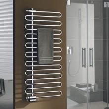KERMI ICARO koupelnový radiátor 600/1446mm, levé i pravé provedení, chrom
