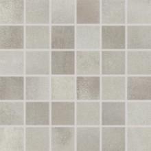 RAKO VIA mozaika 30x30cm, lepená na síťce, šedá