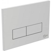 IDEAL STANDARD IDEAL SYSTEM ovládací deska 230x10x170mm, mechanická, satin chrom