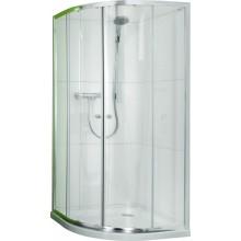 CONCEPT 50 sprchové dveře 800x800x1850mm posuvné, 1/4 kruh, stříbrná/čiré sklo PT620605.069.321