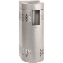 AZP BRNO AFO 01.SCL pítko 350x390mm, s průtokovým chladičem a výdejem do láhve, ke stěně, stojánkové, nerez
