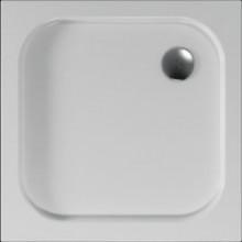 Čtvrtkruhová sprchová vanička BIANCA se vyrábí v provedení s hladkým povrchem.