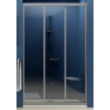 RAVAK SUPERNOVA ASDP3 100 sprchové dveře 970-1010x1880mm třídílné, posuvné, satin/transparent 00VA0U02Z1