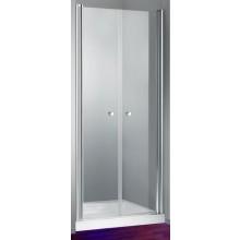 HÜPPE DESIGN 501 ELEGANCE PTS 900 lítací dveře 900x1900mm pro boční stěnu, stříbrná lesklá/sand plus anti-plague 8E1402.092.316