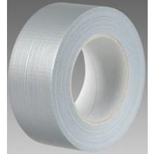 DEN BRAVEN textilní páska 50mm, v návinu, stříbrná