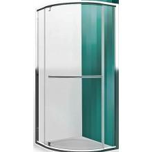 ROLTECHNIK PROXIMA LINE PXRO1/900 sprchový kout 900x2000mm čtvrtkruhový, s jednokřídlými otevíracími dveřmi, rámový, brillant/transparent