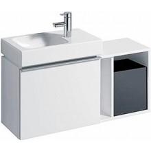 KERAMAG ICON XS postranní prvek 37x40x27,3cm, závěsný, bílá lesklá 840237000