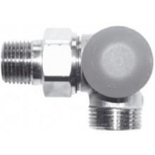 """HERZ TS-98-VHF termostatický ventil M30x1,5, 1/2"""" úhlový, pravý, s plynulým přednastavením a číselnou stupnicí"""