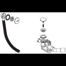 Příslušenství k vanám Kaldewei - Comfort Select 4501 odpadní a přepadová souprava