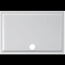 JIKA PANDA sprchová vanička z litého mramoru 1000x800x30mm obdélníková, bílá