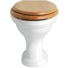 HERITAGE DORCHESTER WC mísa 365x410mm, vodorovný odpad, bílá