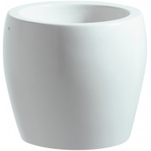 Mísa umyvadlová Laufen bez otvoru IL Bagno Alessi ONE 45 cm bílá-LCC