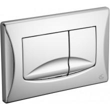 IDEAL STANDARD BETTER 2 ovládací deska 245x165mm mechanická, lesklý chrom, VV638584