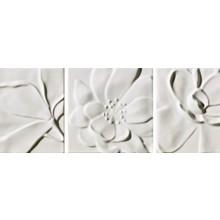 IMOLA ANTIGUA dekor 20x20cm white, NINPHEA 20W MIX