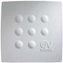 VORTICE QUADRO MICRO 100 ventilátor 20/28W, dvourychlostní, se zpětnou klapkou, bílá