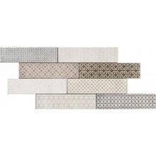 MARAZZI CLAYS FASCIA mozaika, 30x60cm, lepená na sítce, colourmix