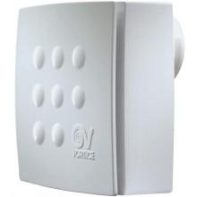 VORTICE QUADRO MICRO 100 T ES radiální ventilátor 8-15W úsporný, s časovým doběhem, nástěnný, bílá