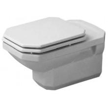 WC závěsné Duravit odpad vodorovný 1930 hlub. 35,5x58 cm bílá+wondergliss
