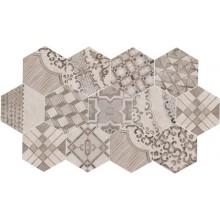 MARAZZI CLAYS dekor, 21x18,2cm šestiúhelník, lava/cotton