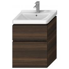JIKA CUBITO-N skříňka pod umyvadlo 540x399x683mm, 2 zásuvky, tmavá borovice