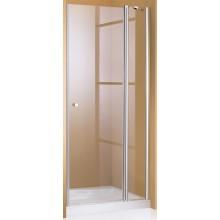 HÜPPE 501 DESIGN PURE ST 900 křídlové dveře 900x2000mm stříbrná lesklá/čiré anti-plaque 510615.092.322