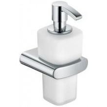 KEUCO ELEGANCE dávkovač 220ml pěnového mýdla, nástěnný, sklo/chrom