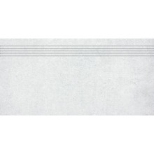 Schodovka Rako keramická slinutá Cemento 30x60 cm světle šedá