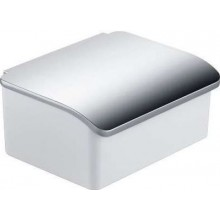KEUCO ELEGANCE NEW zásobník 160x130x71mm, na vlhčené ubrousky, bílá/chrom