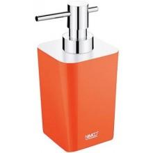 NIMCO ELI dávkovač na tekuté mýdlo 75x90x167mm oranžová/chrom EL 3031-20