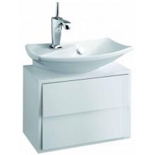 Nábytek skříňka pod umývátko Kohler Escale 2 zásuvky 50x29,5x35 cm Gloss Titanium Grey