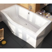 RAVAK MAGNOLIA 170 klasická vana 1700x750mm akrylátová, obdélníková, bílá